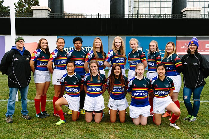 Glendale Girls HS Rugby Team