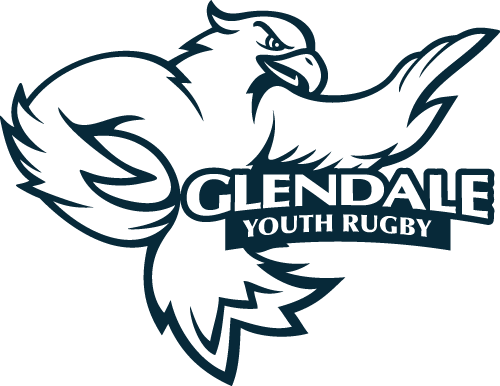 Glendale Youth Rugby Logo Navy