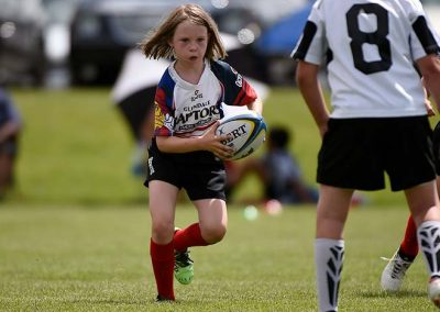 Youth Girl Rugby Player