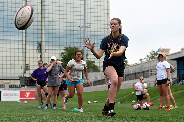 Premier Coaches Highlight Glendale's HS Girls Rugby Camp