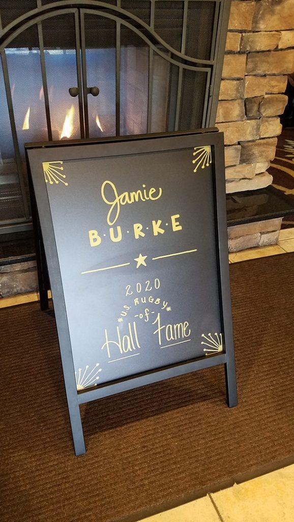 Jamie Burke Sign