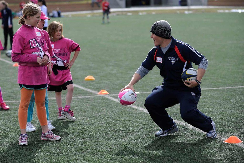 Jamie Burke Teach Youth Rugby